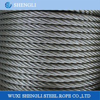 Galvanized Steel Wire Rope For Lifts Or Elevators