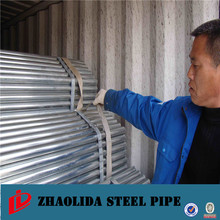 heavy pipe ! animal cage galvanized steel pipe galvanized iron scaffolding tubes