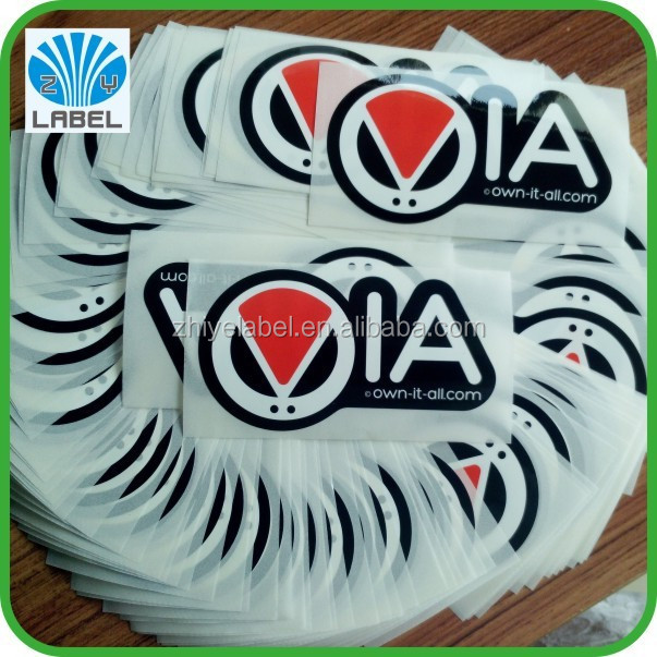 Custom Printing Self-Adhesive Waterproof Vinyl Product Label