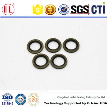 M14 M14X2 BS/A1 standard metric rubber metal outer cased bonded o ...