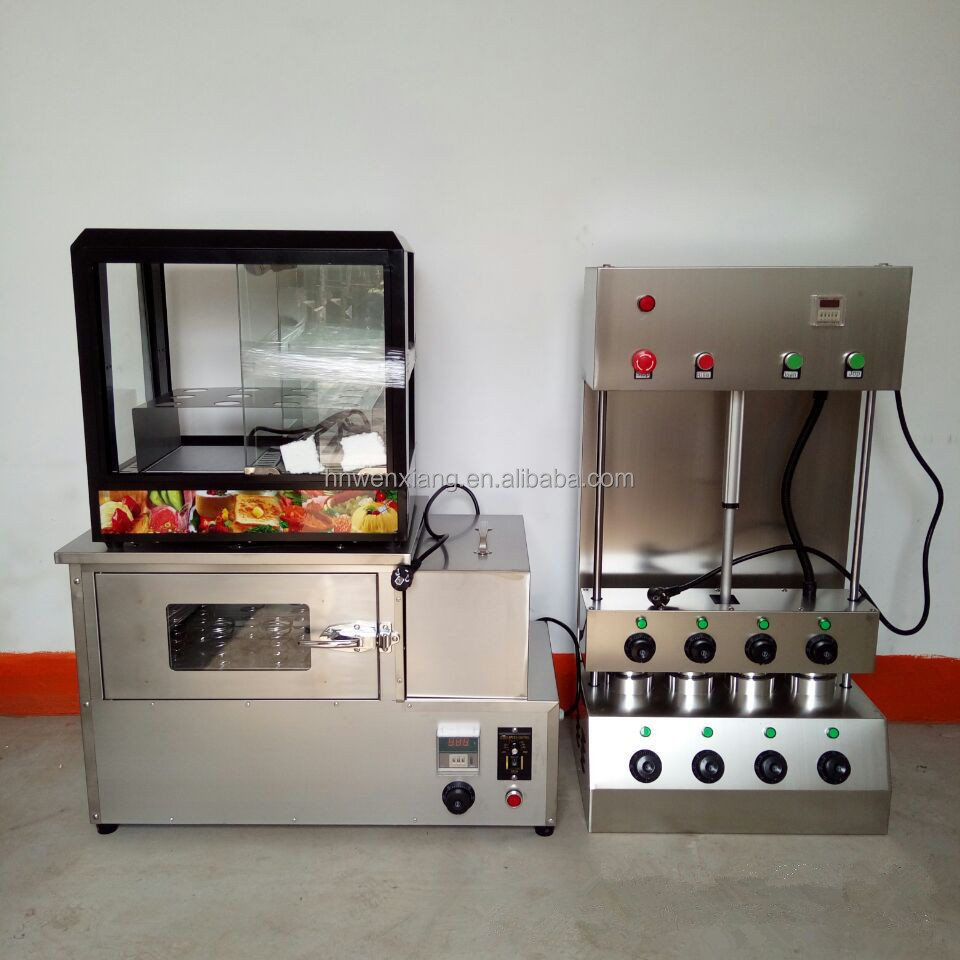 2017 New products pizza cone machine/electric pizza oven