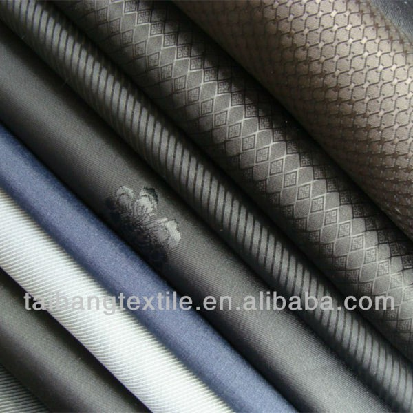 Jacquard lining fabric for garment dot 100% polyester taffeta