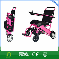 4 wheels aluminum electric wheelchair scooter