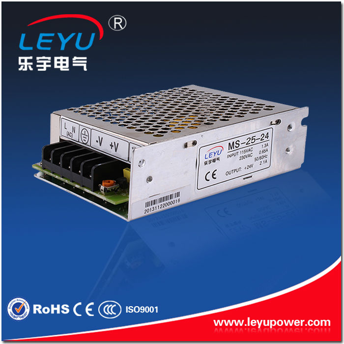 ac dc 110v high frequency transformer 25w 12vdc 2.1A constant voltage MS-25-12 switching power supply for led driver sources CE