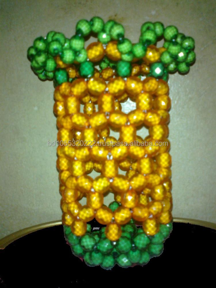 Crystal Beads Flower Vase Buy Crystal Beads Flower Vase Pen Holder