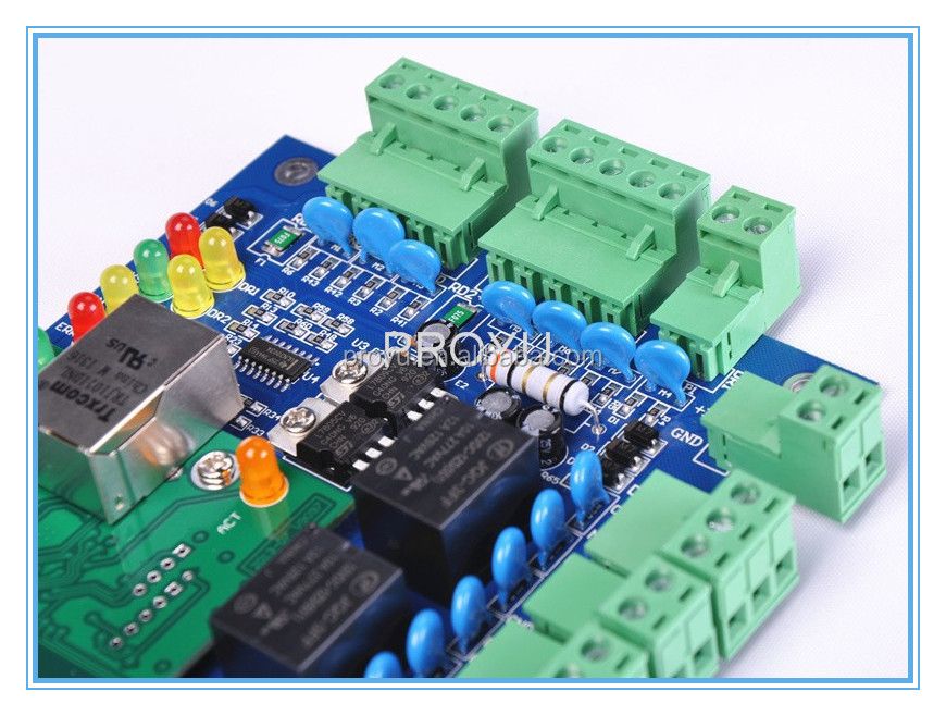 TCP/IP IE Browser web Wiegand access control board controller PY-4000