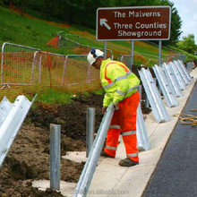 w beam guardrail price for Highway with Easily Assembled