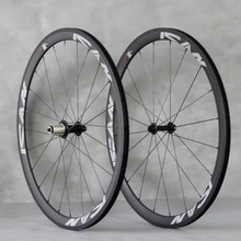 ICANBIKES Superlight 38mm clincher carbon wheelsets, Powerway Hubs R13+Sapim Cx-ray=1320g only