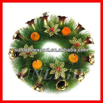 christmas bell wreath decoration