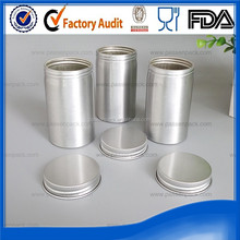 silver Aluminum can for medicine powder made in china
