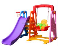 HL-0850 Hot Sale Colorful Brand New Toys Friendly Plastic Child Slide for Nursery School