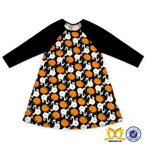 Trendy Children Girl Fox With Orange Striped Clothing Outfits Kids Baby Ruffle Clothes Set