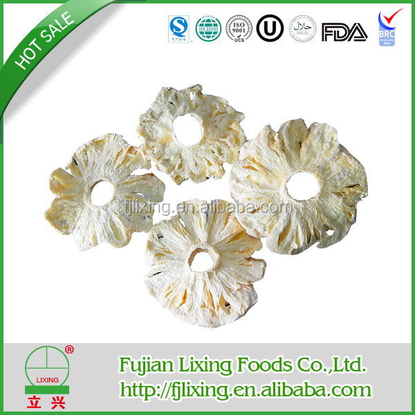Cheap top sell dried pineapple rings with good price