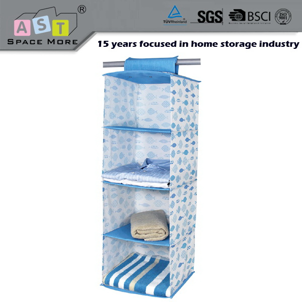 Widely used cheap price closet hanging organizers with drawer
