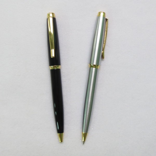 China Wholesale Market New Arrive Hot Selling Metal Ball Point Pen With Golden Parts