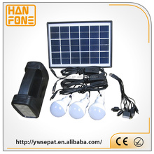 portable 5W mini solar lighting kit,solar lamp,mini indoor outdoor led solar light