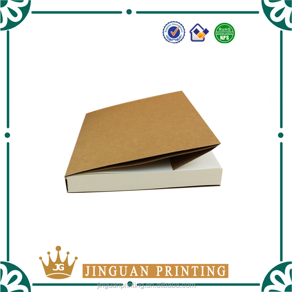 Cheap high quality hardcover book/notebook printin wholesale