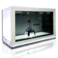 21.5 inch transparent LCD display box