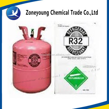 Raw materials r32 new refrigerant gas