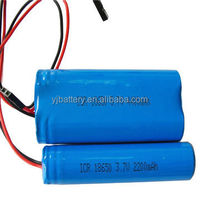 China factary Rechargeable 3.7v Nominal capacity4400 and 18650 battery with connector for EV,HEV,UPS,Energy Storage