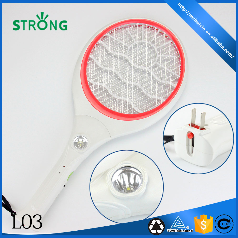 New indoor electronic insect flying bug zapper mosquito swatter