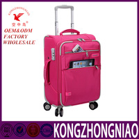Cheap fashionable trolley travel bag luggage suitcase set one set one carton life-time warranty