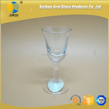 10ml clear small glass wine cup with high quality