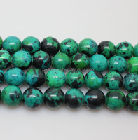 hot Phoenix stone jade 8mm natural green beads semi-finished strand