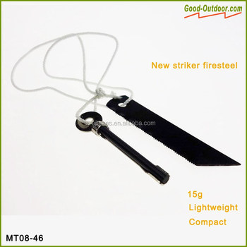 MT08-46 Ranger Flint & Striker (on string)