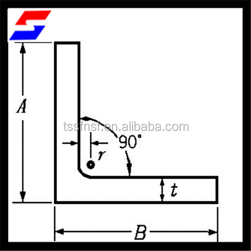 Alibaba China Supplier Equal Angle Steel Sizes/Unequal Steel Angle Angle Steel/Iron Beam Bar