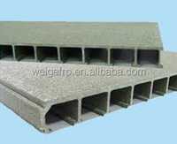 We supply High Strength Fiberglass FRP GRP deck flooring