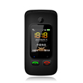 simple radio fm torch sos folding cell phones for elderly