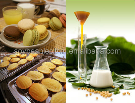 Factory offer soya lecithin as preservatives for cakes