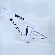 Badou DH frame Bike Part Aluminum Alloy Down Hill Bicycle Frame Full Suspesion Frame Include Suspension