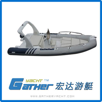 Gather Yacht Outdoor Fanny Water Sports Made-In-China Ce Professional Inflatable Boat