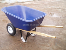 Canada plastic tray two wheels wheelbarrow 140L WH9600