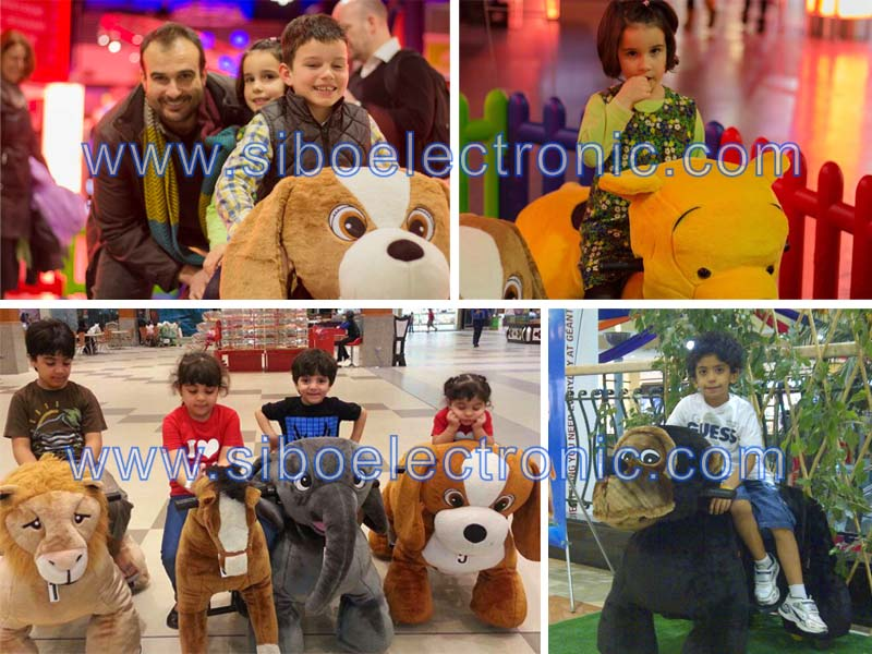 Guangzhou mechanical animal ride horse riding simulator for mall