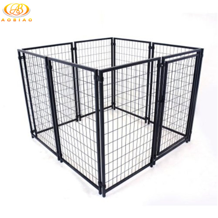 Outdoor sercurity large powder coated metal dog kennels for sale