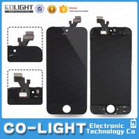 DHL express lcd with digitizer for apple iphone 5g with good quality