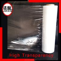 Lldpe packing film pallet wrap stretch film for hand / machine use