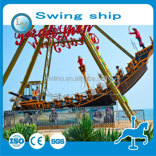 Greatful!!! Professional Design Electric Equipment Pirate Ship In Amusement Park for sale