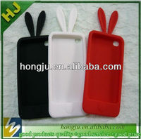 your brand logo silicone mobile phone cover for iphone