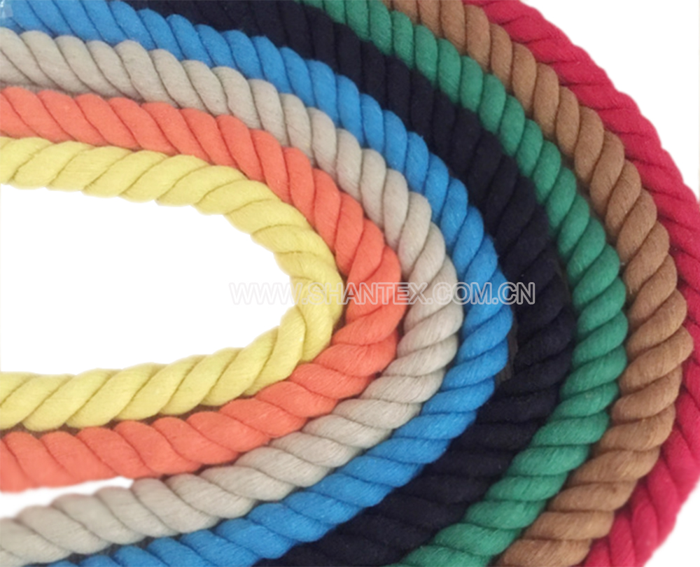 Colorful Cotton Braided Cord