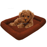 New product colorful pet cushion soft plush dogs and cats pet bed