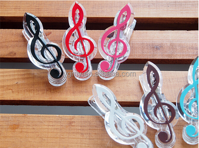 hot Sale music <strong>clip</strong> stationery,musical note <strong>clips</strong> Piano Book Page <strong>Clips</strong>