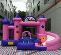 Cartoon inflatable castle/used commercial inflatable bouncers for sale