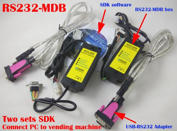 WAFER RS232-MDB adapter box SDK / cashless payment device / Working together with bill acceptor and coin validator