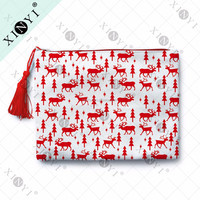 Fancy Christmas Gift Wholesale Toiletry Bags Hot Cosmetic Bag Sets Canvas Toiletry Bag With Tassel
