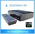 Zgemma H5 TV Decoder HEVC/H.265 combo DVB-S2+DVB-T2/C digital tv receiver albania