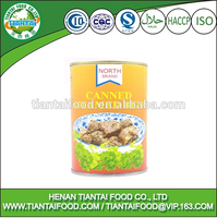 Chinese for export canned steamed beef HALAL ISO